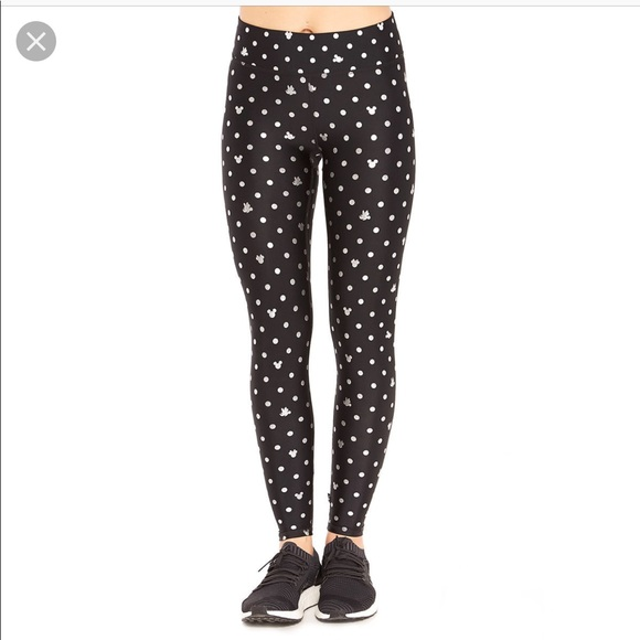 fb347c1c337507 Terez Pants | Mickey Mouse Minnie Mouse Polka Dot Leggings Nwt ...